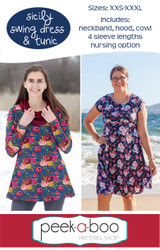 Sicily Swing Dress sewing pattern