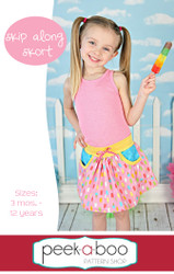Skip Along Skort Sewing Pattern