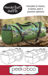 Wanderlust Duffle Bag Sewing Pattern