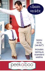 Free necktie sewing pattern