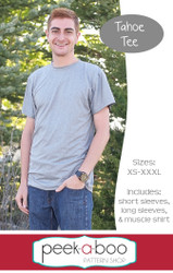 Tahoe Tee Men's Sewing Pattern