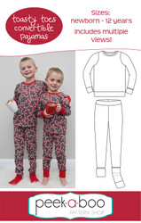 Toasty Toes Convertible Pajamas