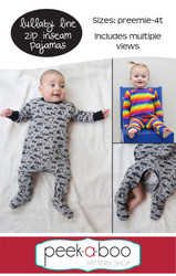 Lullaby Line Zip Inseam Pajamas