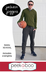 Jackson joggers men's sewing pattern