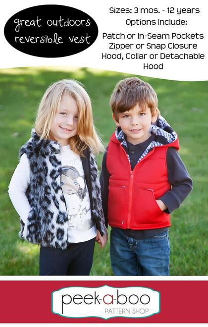 Great Outdoors Reversible Vest