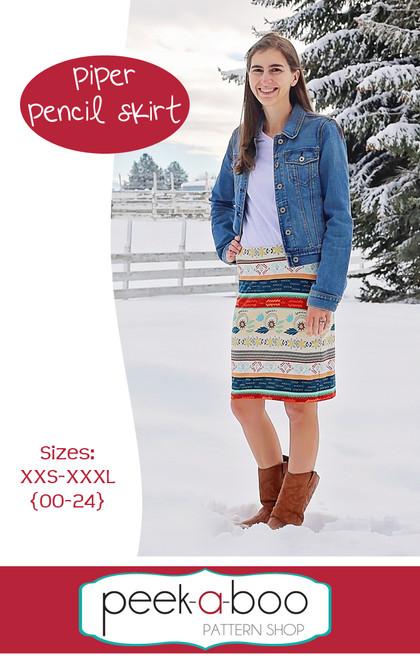 Piper pencil skirt pattern
