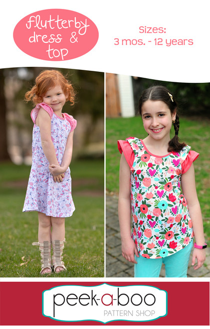 Flutterby Dress and Top Pattern