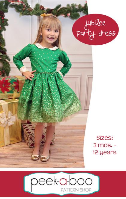 Jubilee Party Dress Sewing Pattern