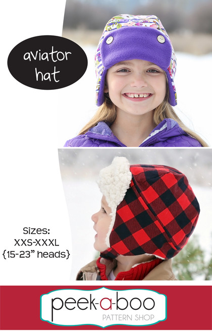 Aviator Hat Sewing Pattern