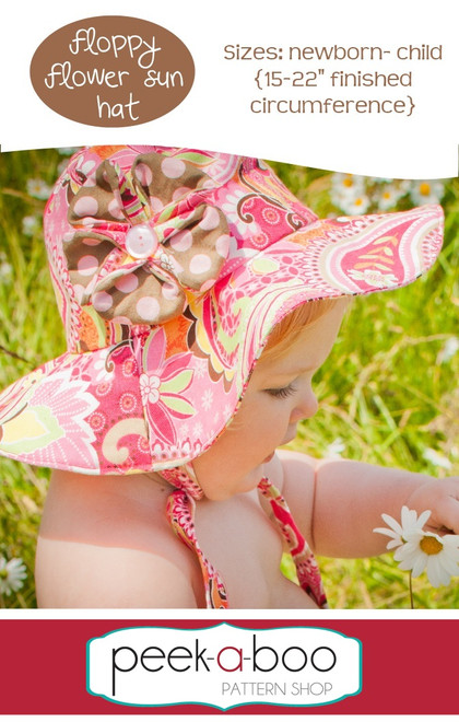 Floppy Flower Sun Hat