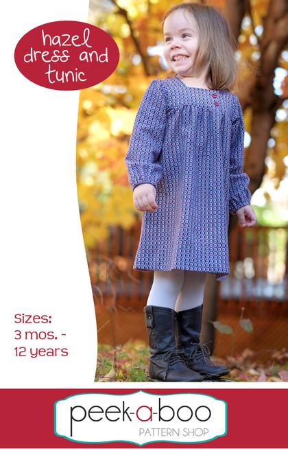 Hazel Dress and Tunic Sewing Pattern