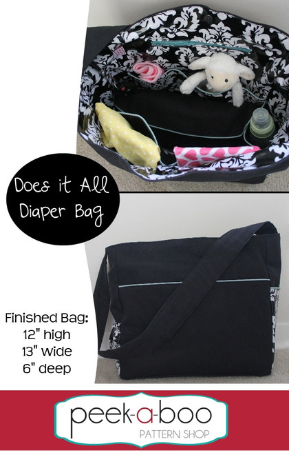 Does It All Diaper Bag