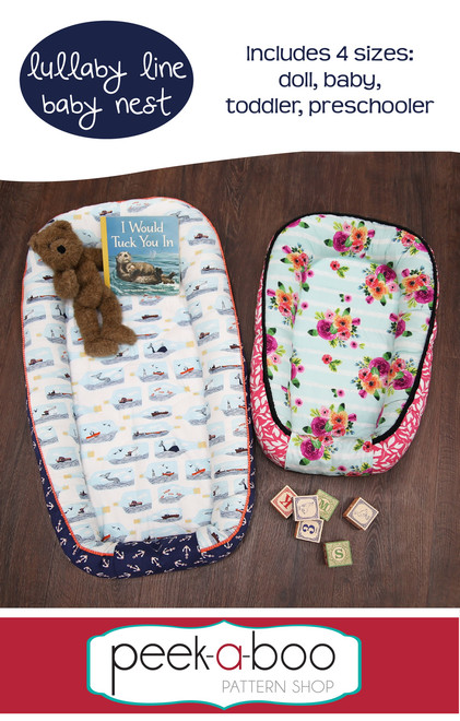be78502e25 Lullaby Line Baby Nest - Peek-a-Boo Pattern Shop