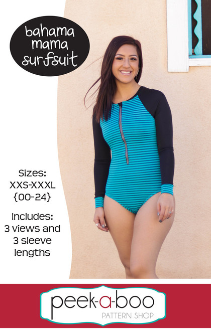 Bahama Mama Surfsuit sewing pattern