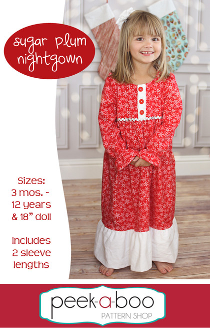 Sugar Plum Nightgown