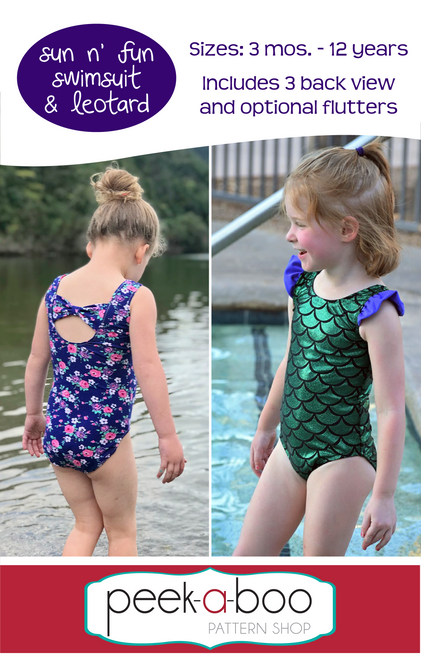 Sun n' Fun Swimsuit and Leotard