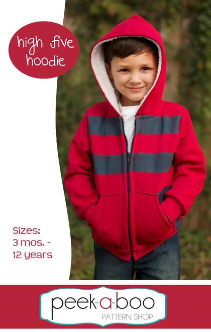 High Five Hoodie Sewing Pattern