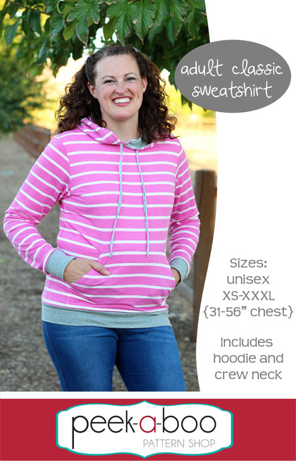 Free adult sweatshirt pattern