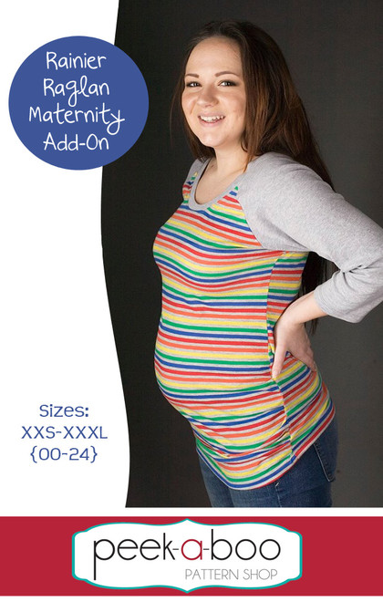 Rainier Raglan Maternity Sewing Pattern
