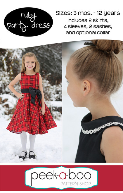 Ruby Party Dress