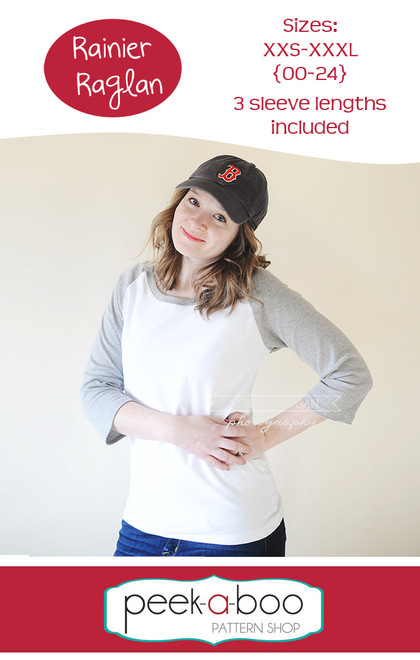 Rainier Raglan Women's Sewing Pattern
