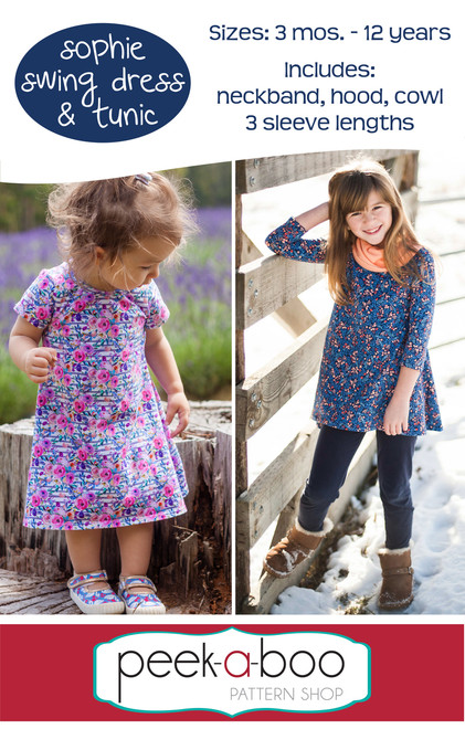Sophie Swing Dress and Tunic Pattern