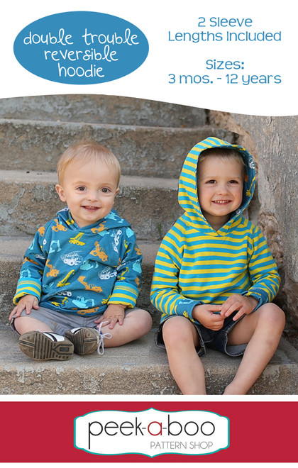 Double Trouble Reversible Hoodie Sewing Pattern