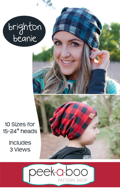 Brighton Beanie Sewing Pattern