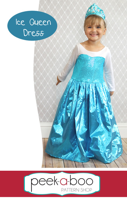 Ice Queen Dress-Up pattern