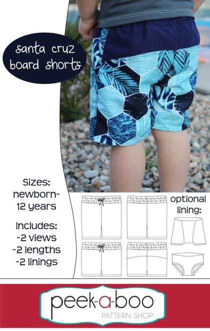 Board Shorts Pattern