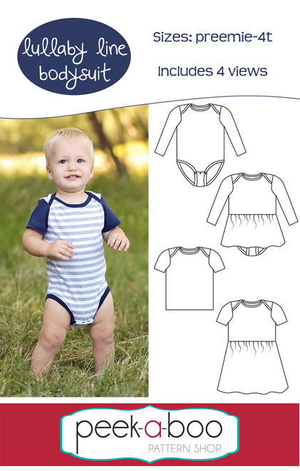 Lullaby Line Bodysuit Sewing Pattern