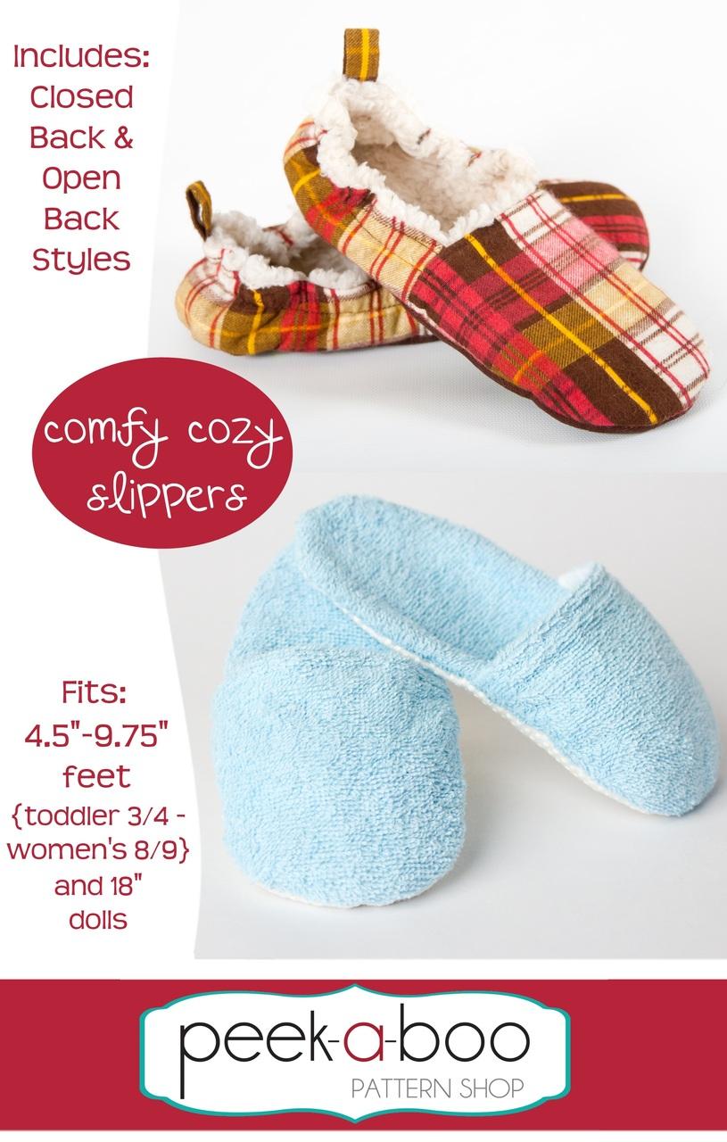 a9ec6ef7d9aff Comfy Cozy Slippers