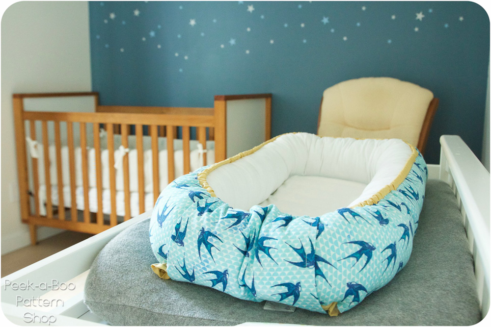 photograph relating to Printable Baby Nest Pattern called Lullaby Line Kid Nest