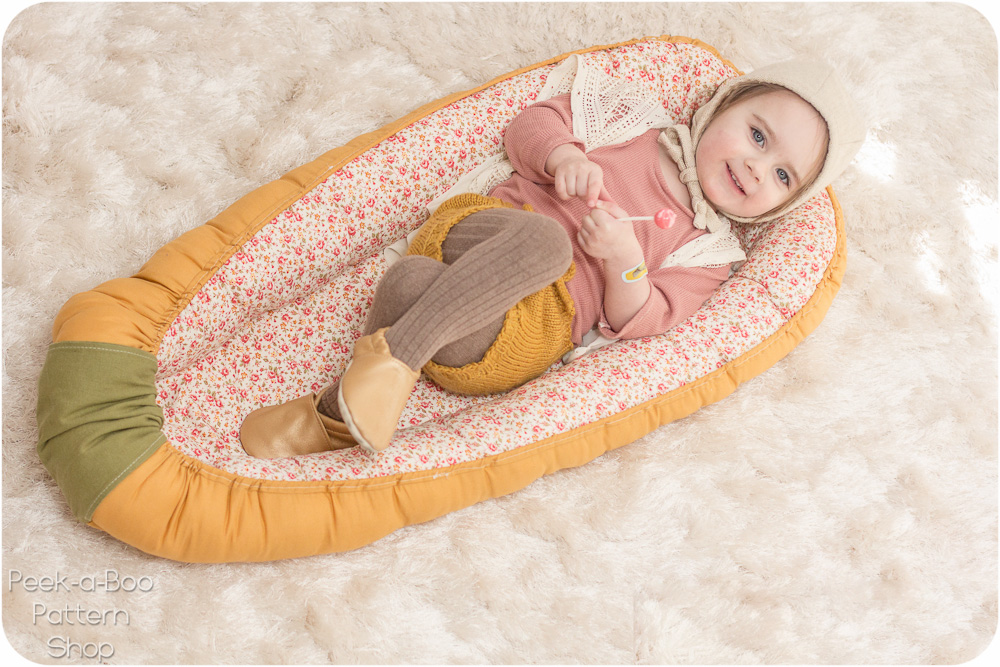 photo regarding Printable Baby Nest Pattern referred to as Lullaby Line Kid Nest