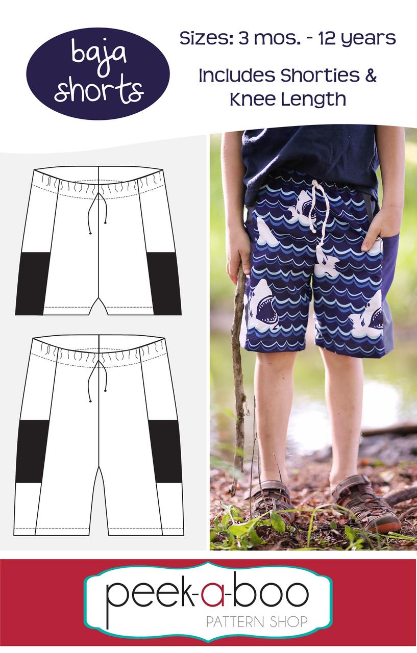 ef3277f27c2 Baja Shorts - Peek-a-Boo Pattern Shop