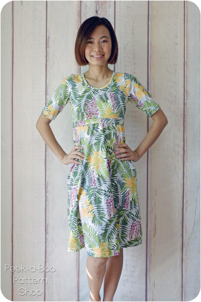 e44bf401cf Madrid Maxi Dress & More - Peek-a-Boo Pattern Shop