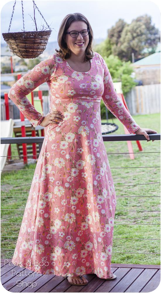 399b3ee7a741 Madrid Maxi Dress & More - Peek-a-Boo Pattern Shop