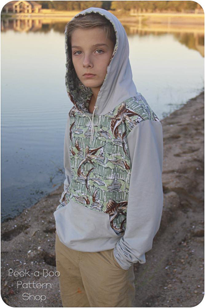 Adult Classic Sweatshirt Peek A Boo Pattern Shop