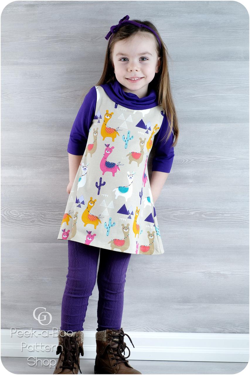 7956e3365e Sophie Swing Dress   Tunic - Peek-a-Boo Pattern Shop