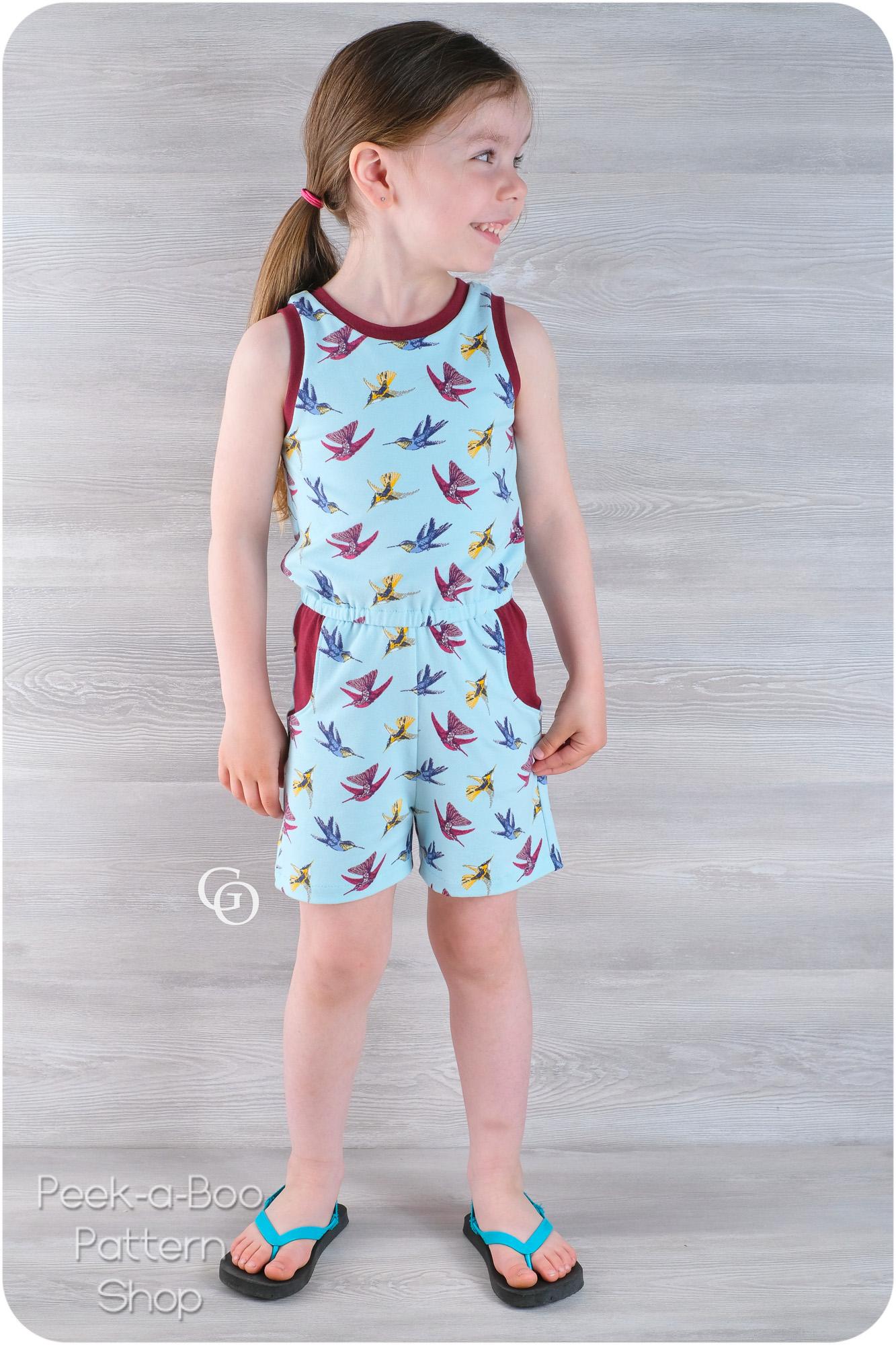 Harlow Dress and Romper