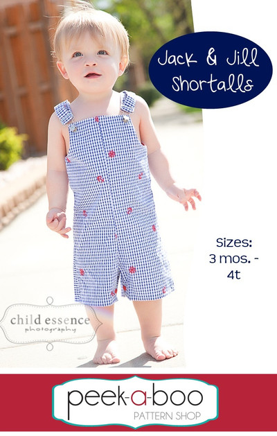 Jack Amp Jill Shortalls Pdf Sewing Pattern