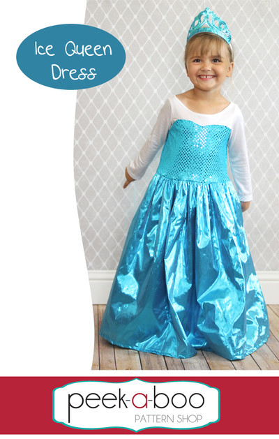 Ice Queen Dress Up Peek A Boo Pattern Shop