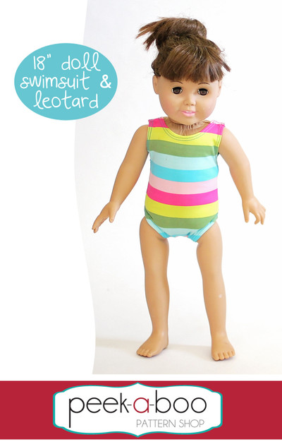 18 Quot Doll Swimsuit Amp Leotard Peek A Boo Pattern Shop