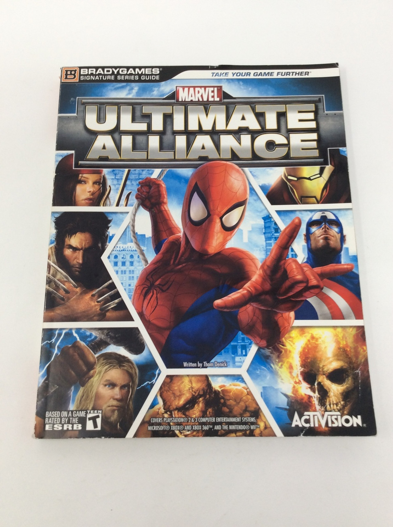 Marvel ultimate alliance (brady games signature series guide.