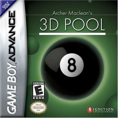 Archer MacLean's 3D Pool (Game Boy Advance)