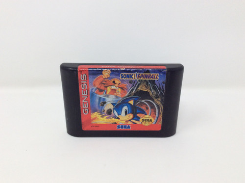 Sonic Spinball -COMPLETE IN BOX- (Genesis)