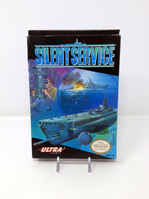 Silent Service -COMPLETE IN BOX- (NES)