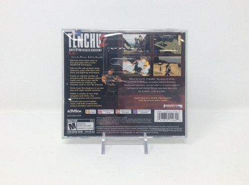 Tenchu 2 *BRAND NEW* Factory Sealed (PS1)