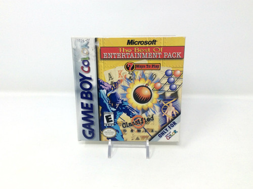 Microsoft Best of Entertainment Pack - COMPLETE IN BOX (Game Boy Color)