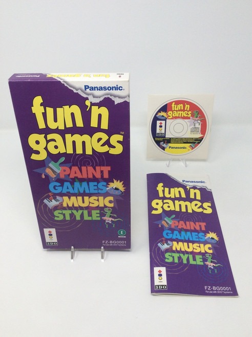 Fun 'n Games -COMPLETE IN BOX- (3DO)